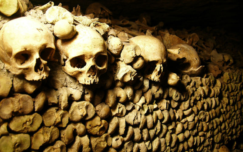 Catacombs of Paris, Paris, France