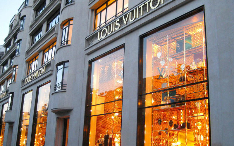 Louis Vuitton, Champs-Elysées, Paris, France