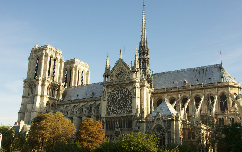 Notre-Dame Cathedral, Paris, France