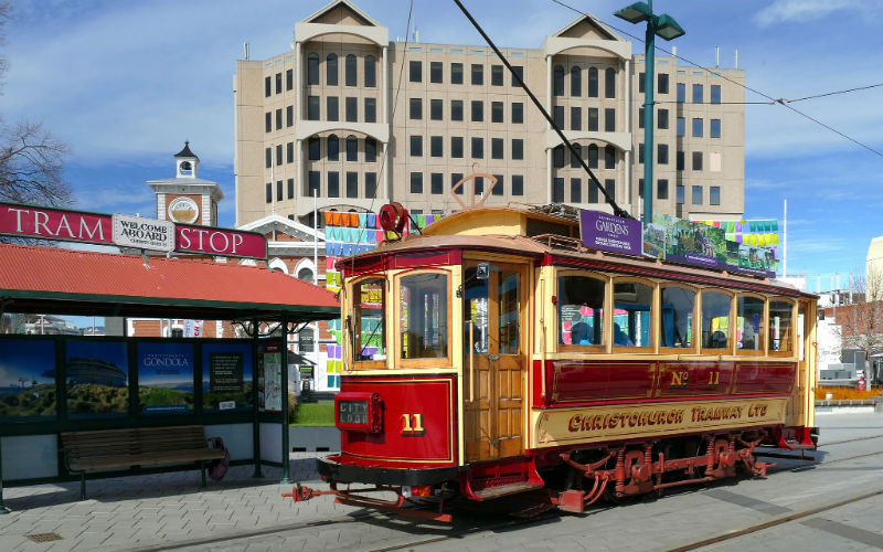Christchurch Tram, Christchurch, New Zealand