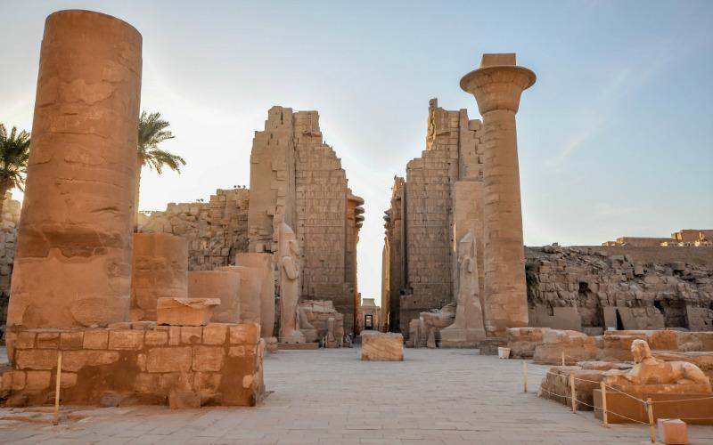 The Karnak Temple Complex, Egypt