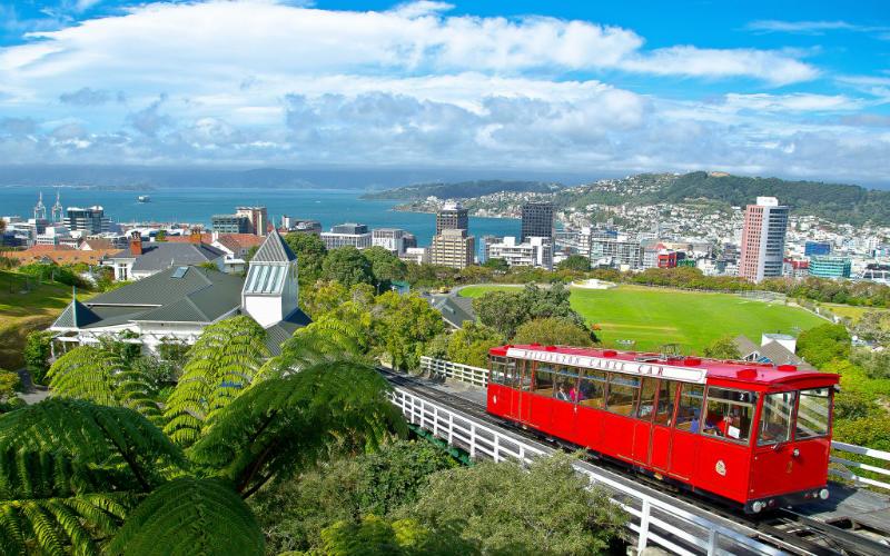 Wellingon Cable Car, Wellington, New Zealand