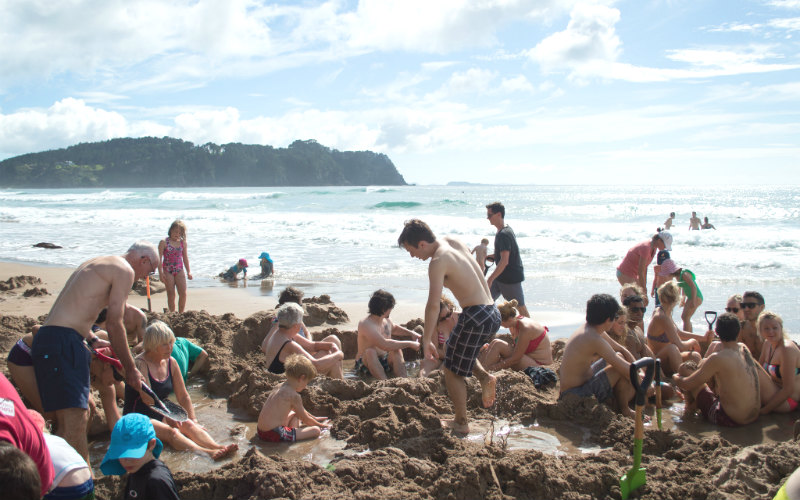 Hot Water Beach, The_Coromandel, New Zealand