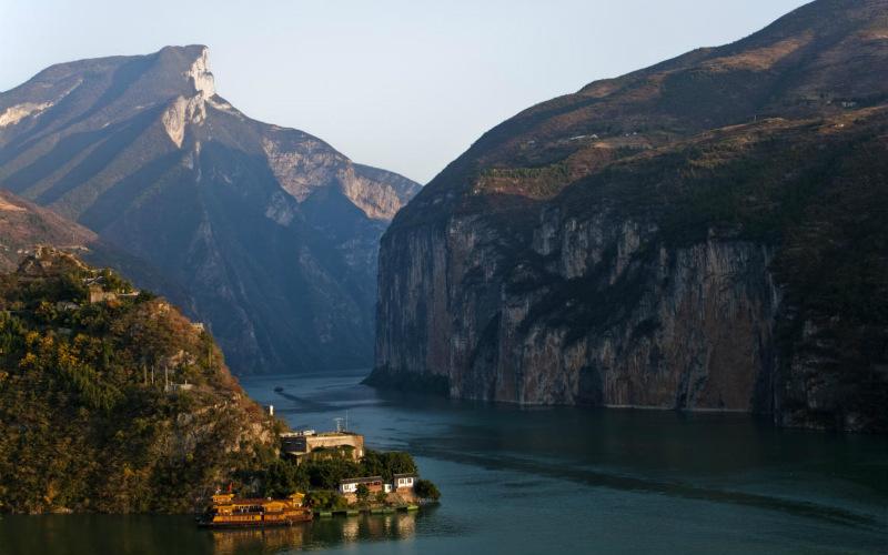 Qutang Gorge, Yangtze River, China
