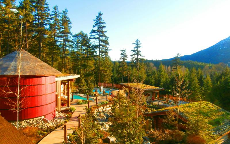 Scandinave Spa, Whistler, Canada