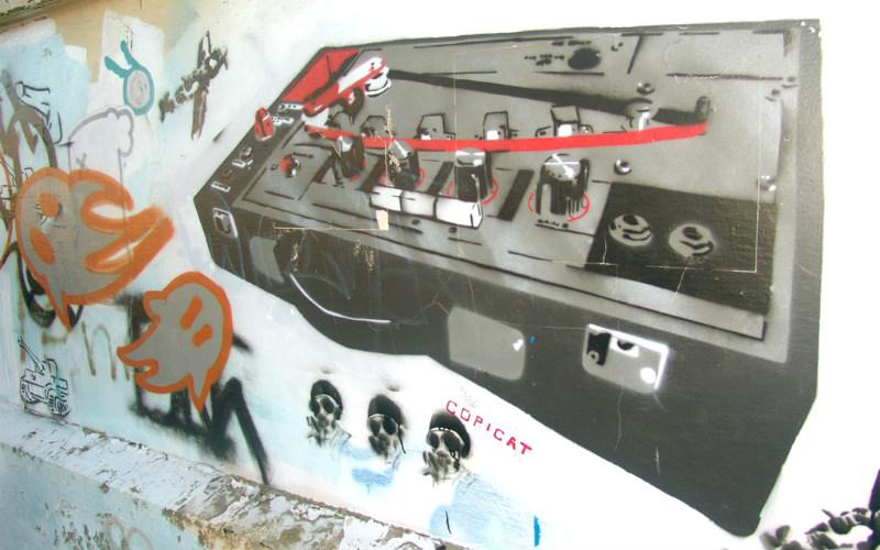 Street art in Dunedin, New Zealand