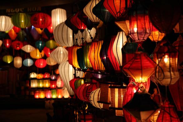 Hoi An Night Market, Hoi An, Vietnam