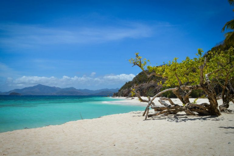 Fiji beach coast
