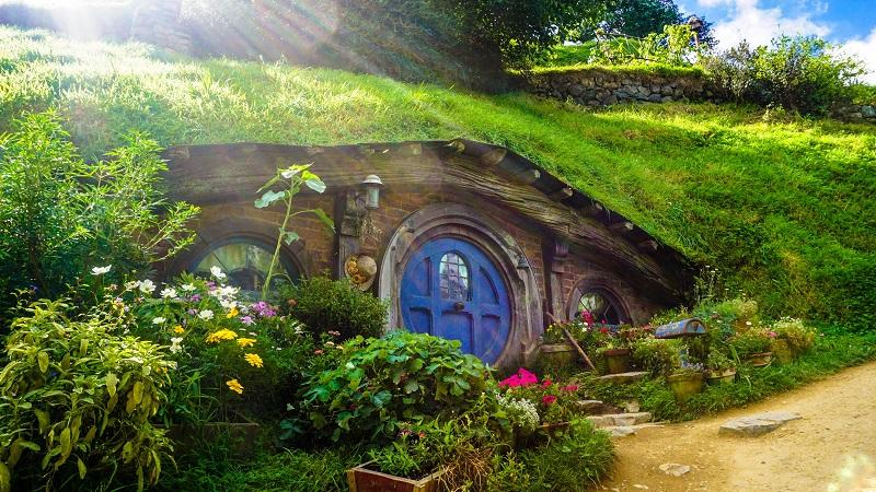 Hobbiton on New Zealand North Island