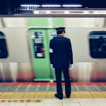 Public Transport in Japan at Shibuya Rail Station, Tokyo