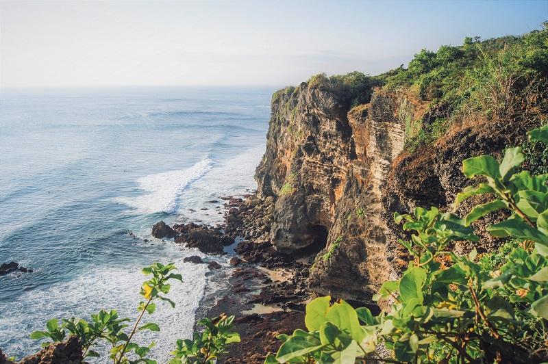Clifftop in Uluwatu, Bali.