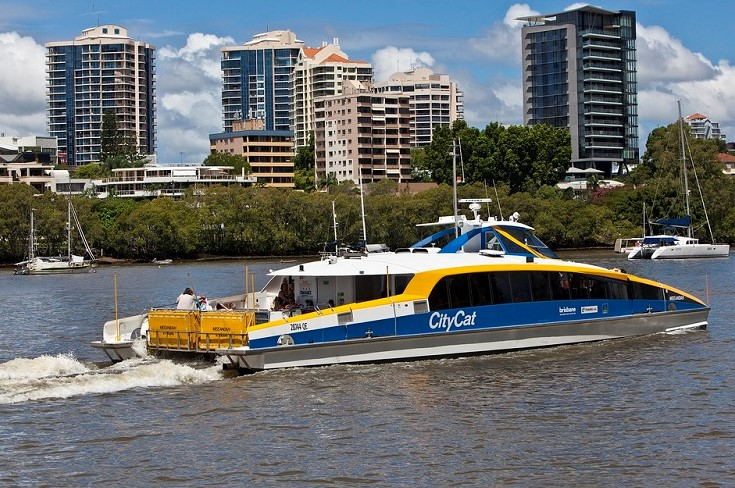 Brisbane Sightseeing CityCats Ferry
