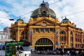 Flinders Street Station, Melbourne, Australia