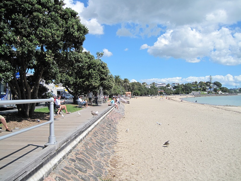 St Heliers Boardwalk Tamaki Drive Free Things to do Auckland