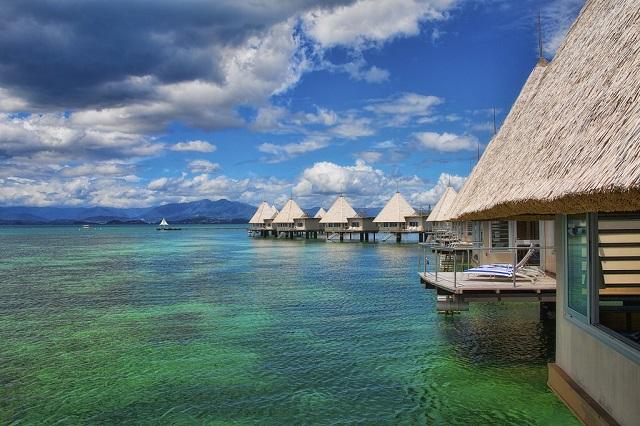 Overwater Villa Bungalows New Caledonia
