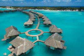 Overwater Bungalows Villas South Pacific