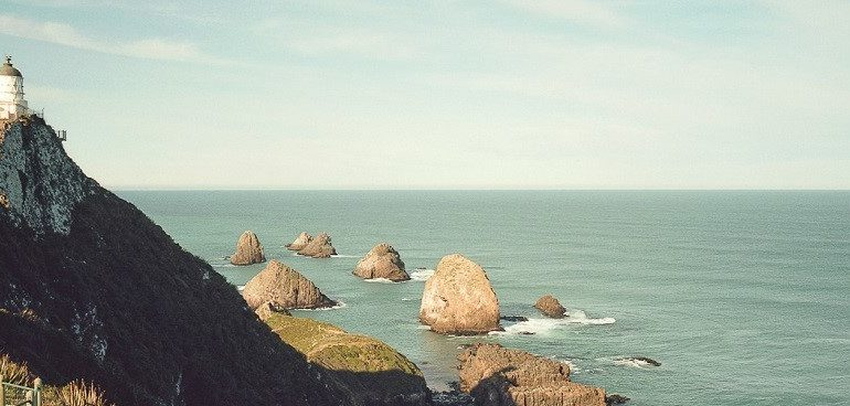 Best Lookout Points New Zealand Nugget Point