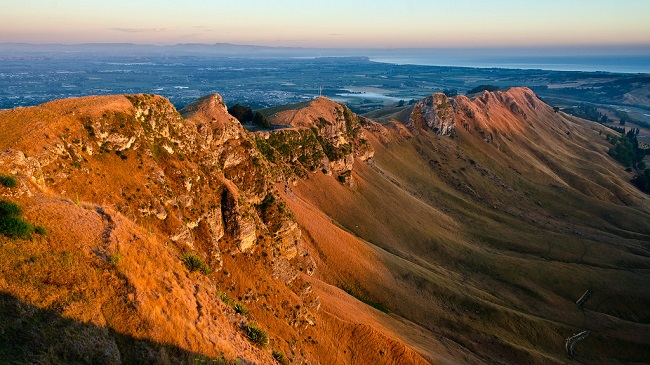 Te Mata Peak North Island New Zealand