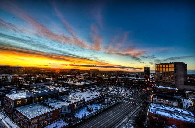 Skyline-Boise-Idaho-Sunset-Overlooked-America-City