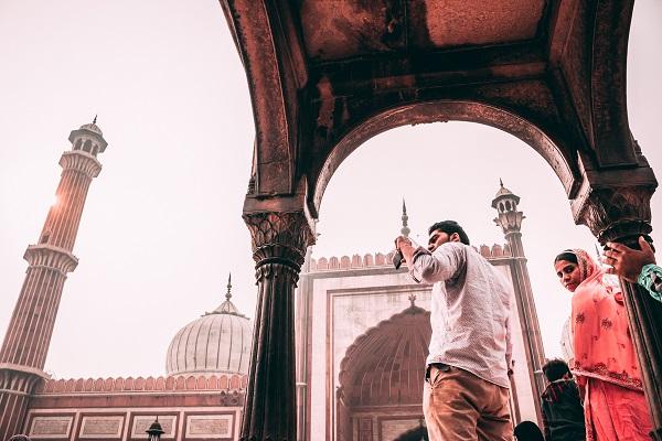 Jama Masjid Mosque Delhi Webjet Tours India