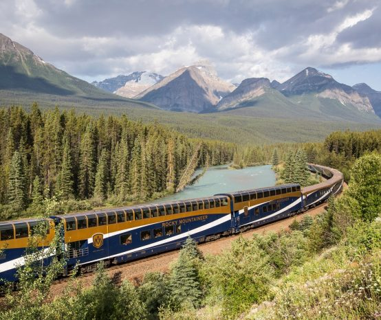 Where Does The Rocky Mountaineer Go?