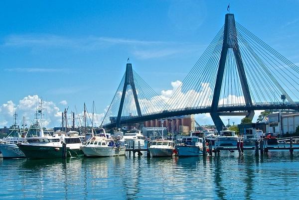 Anzac-Bridge-View-Sydney-Waterfront-Walks